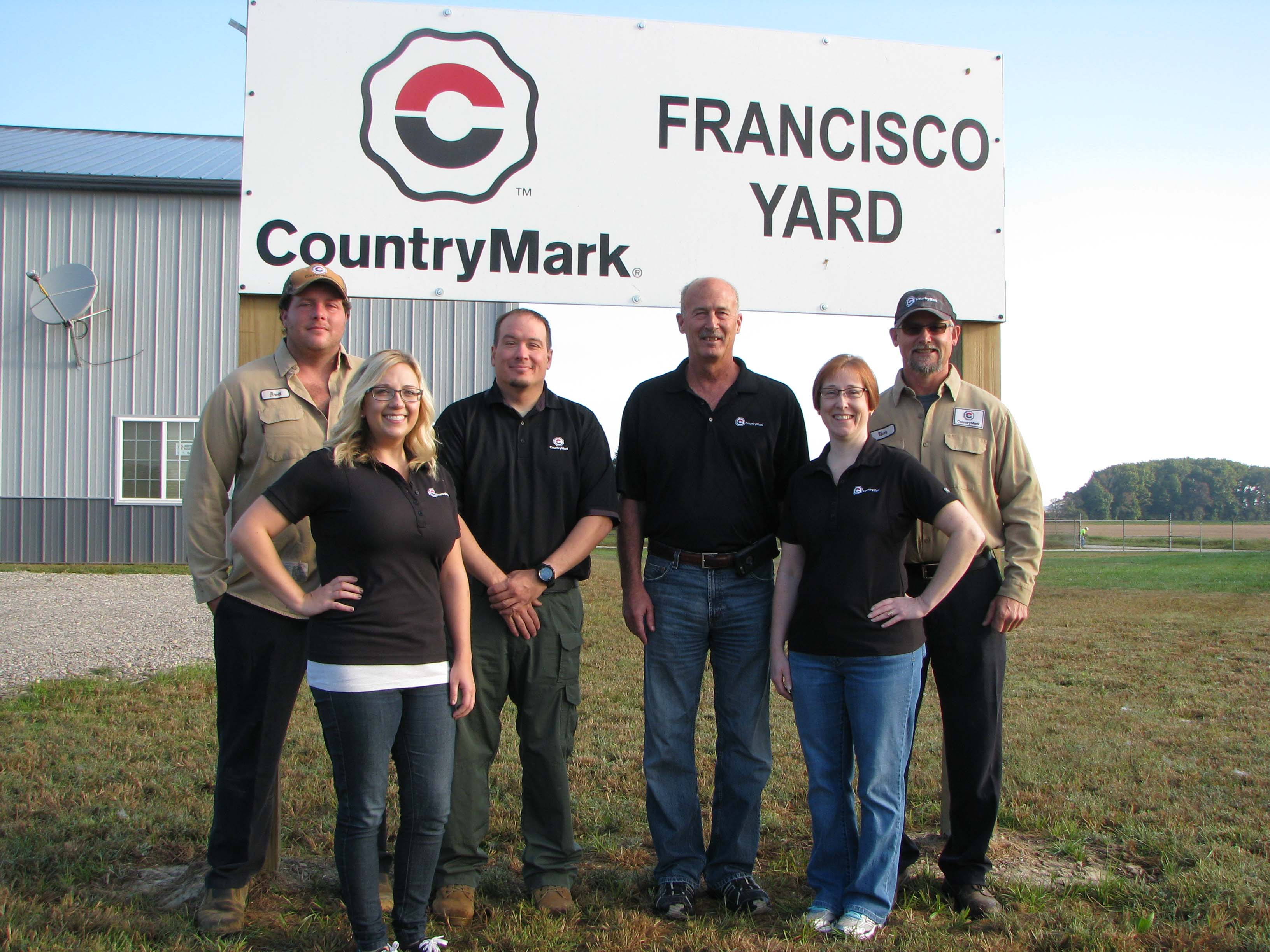 Indiana gibson county francisco - Countrymark S Francisco Yard Won The Indiana Oil And Gas Association Facility Of The Year Award Pictured At The Award Winning Facility Are Countrymark